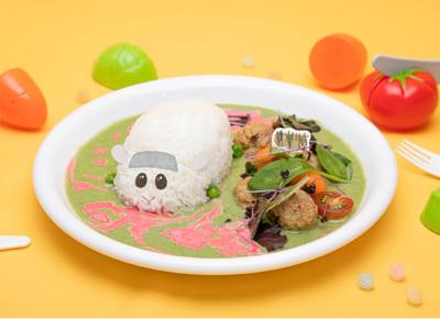 「Mogu Mogu モルカー Restaurant」ゾンビとランチシロモがゾンビに?グリーンカレー