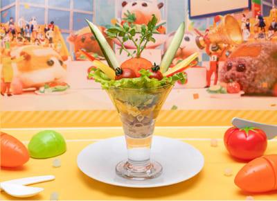 「Mogu Mogu モルカー Restaurant」プイプイレーシングトロフィーサラダ