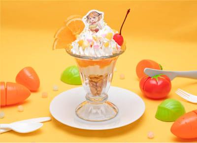 「Mogu Mogu モルカー Restaurant」ヒーローになりたい魔法天使モルミ 痛パフェ