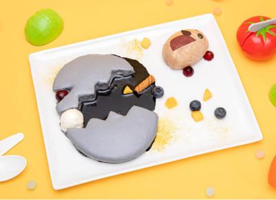 「Mogu Mogu モルカー Restaurant」モルミッションインポッシブルパンケーキ