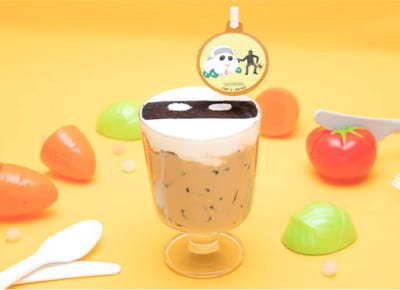 「Mogu Mogu モルカー Restaurant」銀行強盗をつかまえろ!覆面シロモのカフェラテ