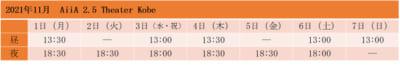 「劇団『ドラマティカ』ACT1/西遊記悠久奇譚」AiiA 2.5 Theater Kobe