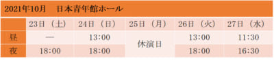 「劇団『ドラマティカ』ACT1/西遊記悠久奇譚」日本青年館ホール