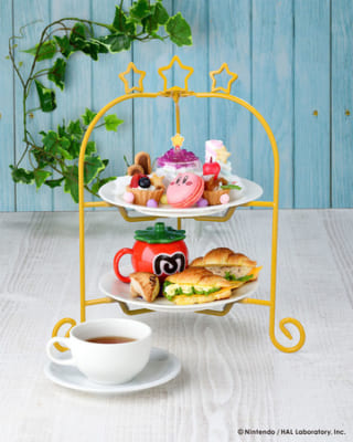 「Kirby Café(カービィカフェ)」夢の泉のアフタヌーンティー