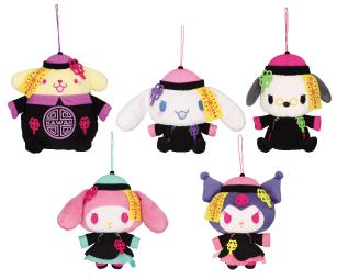 「ナムコdeハロウィン2021-スカルズ・フェスティバル!-」サンリオキャラクターズ キョンシーナイト!ぬいぐるみ2021