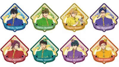 「Free!-the Final Stroke-」Special Collaboration Cafeワッペンバッジ