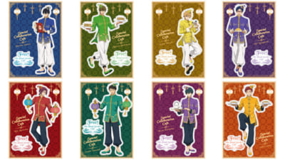 「Free!-the Final Stroke-」Special Collaboration Cafe貼ってはがせるステッカー