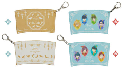 「Free!-the Final Stroke-」Special Collaboration Cafeカップスリーブキーホルダー