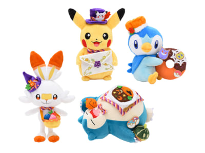 「ポケットモンスター Pokémon Pumpkin Banquet」ぬいぐるみ