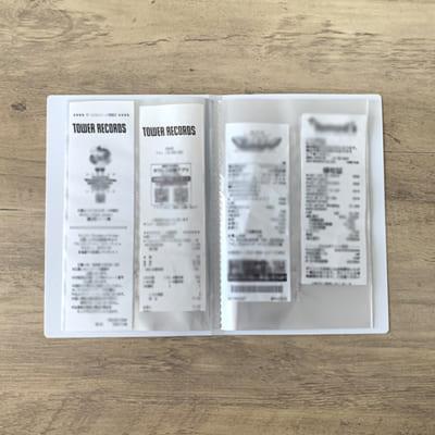 タワレコ レシート収納ファイル