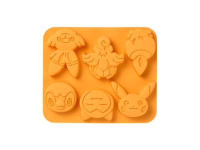 「ポケットモンスター Pokémon Pumpkin Banquet」シリコーンお菓子型