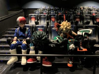 劇場版「僕のヒーローアカデミア THE MOVIE ワールド ヒーローズ ミッション」4D上映を体感した3人