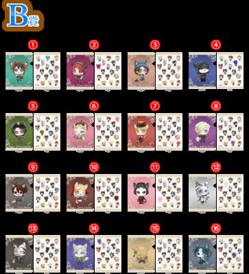 「IdentityV 第五人格×ナンジャタウン」ミニゲーム B賞:A5クリアファイル