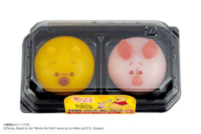 「食べマスモッチ プーさん&ピグレット」パッケージ
