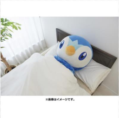 「とってもおっきいポッチャマ(商品ページ)」寝るポッチャマ