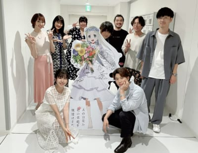 「ANOHANA 10 YEARS AFTER Fes.」キャスト集合