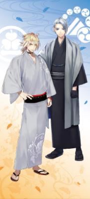 「刀剣乱舞-ONLINE- 軽装キャンペーン」山姥切長義&南泉一文字