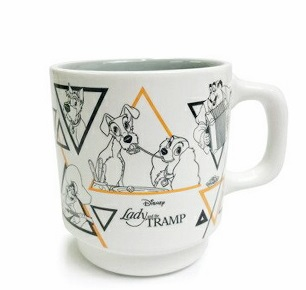 「Disney Classics MARKET」L&Tスタックマグカップ(グレー)1,870円