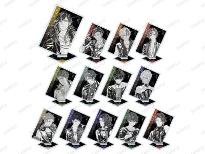 「『ブラックスター -Theater Starless-』2nd Anniversary Ani-Art フェア in アニメイト」先行販売グッズ、トレーディング Ani-Art アクリルスタンド ver.A (全13種) 単品:880円(税込)/BOX:11,440円(税込)