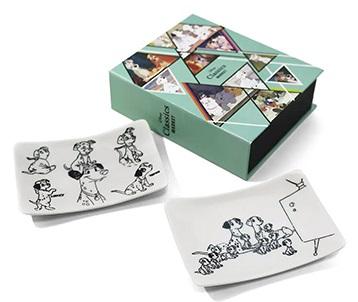 「Disney Classics MARKET」101クラシックプレート(2枚セット) 2,200円