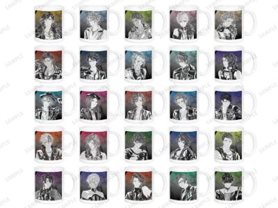 「『ブラックスター -Theater Starless-』2nd Anniversary Ani-Art フェア in アニメイト」先行販売グッズ、Ani-Art マグカップ(全25種) 価格:各1,650円(税込)