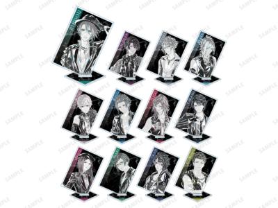 「『ブラックスター -Theater Starless-』2nd Anniversary Ani-Art フェア in アニメイト」先行販売グッズ、トレーディング Ani-Art アクリルスタンド ver.B (全12種) 単品:880円(税込)/BOX:10,560円(税込)