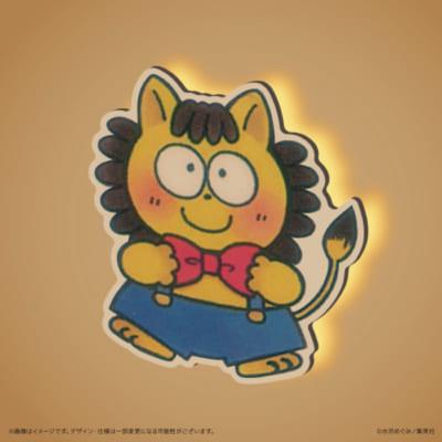 ウォールライト 姫ちゃんのリボン「ポコ太」デザイン