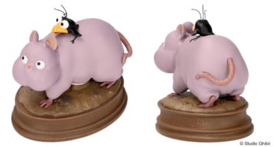 「千と千尋の神隠し」映画公開20周年記念の新商品 千と千尋の神隠し てくてく坊ネズミ