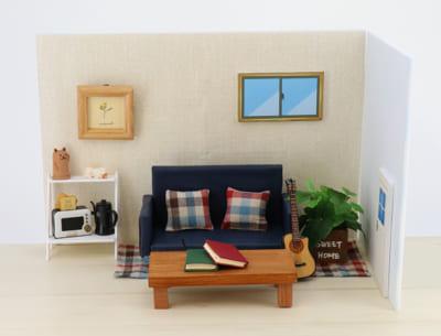 ぬいぐるみ用の撮影スタジオ「ぬいの撮り箱」撮影セット:男の子の部屋