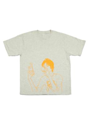 いくえみ綾先生×「Design Tshirts Store graniph(グラニフ)」Tシャツ「善十」表面