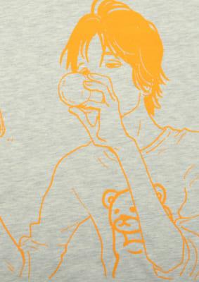 いくえみ綾先生×「Design Tshirts Store graniph(グラニフ)」Tシャツ「善十」表面デザイン