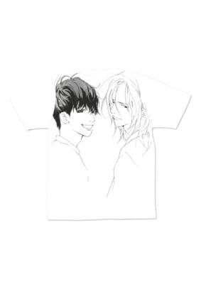 いくえみ綾先生×「Design Tshirts Store graniph(グラニフ)」Tシャツ「和央と弦」裏面