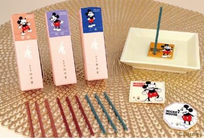 「MICKEY NEXT JAPAN MARKET」お香(15本入) 各1,430円