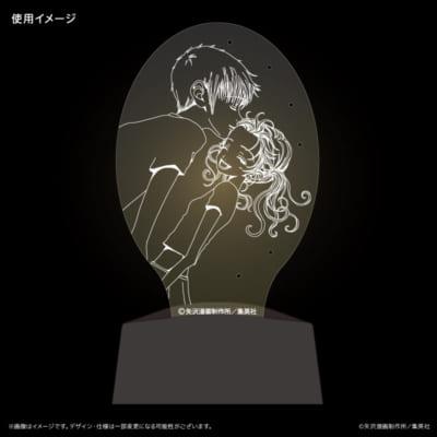 LEDアクセサリースタンド ご近所物語「実果子&ツトム」デザイン