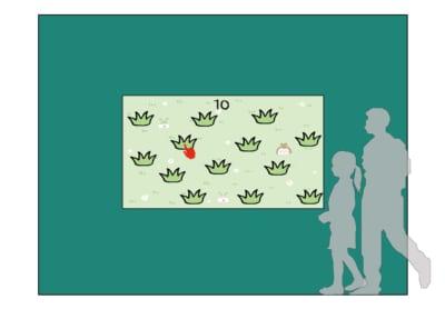 大型展覧会「ちいかわの森」労働「草むしり」体験ゲーム