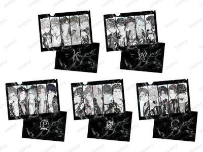 「『ブラックスター -Theater Starless-』2nd Anniversary Ani-Art フェア in アニメイト」先行販売グッズ、Ani-Art クリアファイル(全5種) 価格:各473円(税込)
