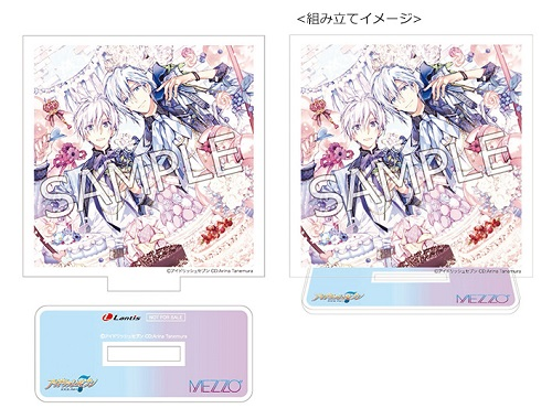 "「MEZZO""×TOWER RECORDS」キャンペーン初回限定盤B特典:ミニアクリルスタンド"