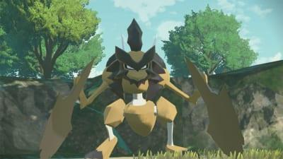 「Pokémon LEGENDS アルセウス」新ポケモン「バサギリ」