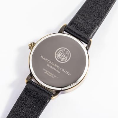 「刀剣乱舞-ONLINE-」コラボレーション腕時計(全4種)燭台切光忠(極)裏