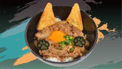 「忍たま乱太郎×アニメイトカフェ」小平太と長次の狼男どん