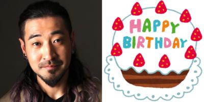 9月22日は竹内良太さんのお誕生日