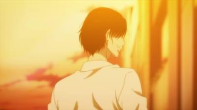 TVアニメ「さんかく窓の外側は夜」 本PV場面カット:謎の男…