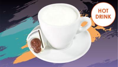 「忍たま乱太郎×アニメイトカフェ」三郎・雷蔵・八左ヱ門の骸骨チョコミルク