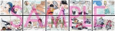『「新生劇場版リョーマ!」エンドロール描き下ろし✭サプライズ原作ポストカード』第2週目(9月10日~16日)配布リスト