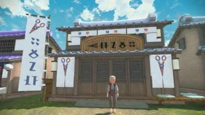 「Pokémon LEGENDS アルセウス」散髪屋