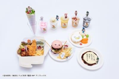 「銀魂マジシャンズCAFE&SHOP in ツリービレッジ」カフェメニュー