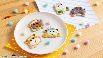 「PUI PUI モルカー COOKIE MAGCOT」可愛く盛り付け