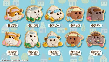 「PUI PUI モルカー COOKIE MAGCOT」全種類