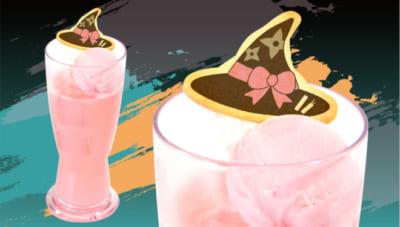 「忍たま乱太郎×アニメイトカフェ」半子さんの魔女っ娘ソーダ