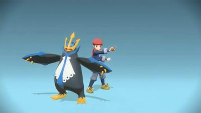 「Pokémon LEGENDS アルセウス」ポケモンと記念撮影が可能!